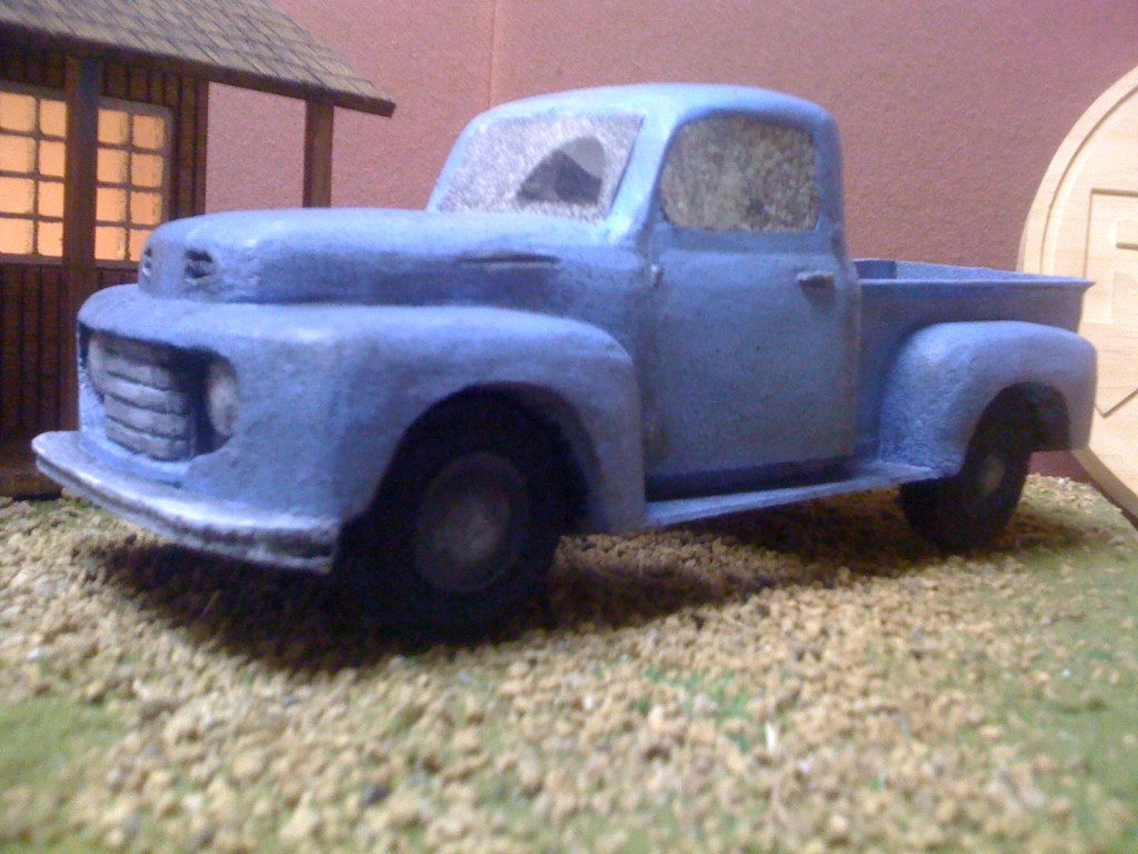 1950 Ford truck wood