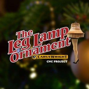 """Leg Lamp"" Christmas Ornament!"