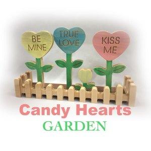 Candy Hearts Garden
