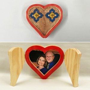 """Heart Photo """"Locket"""" Project"""