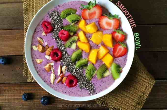 power smoothie bowl