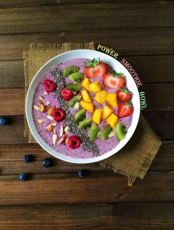power smoothie bowl