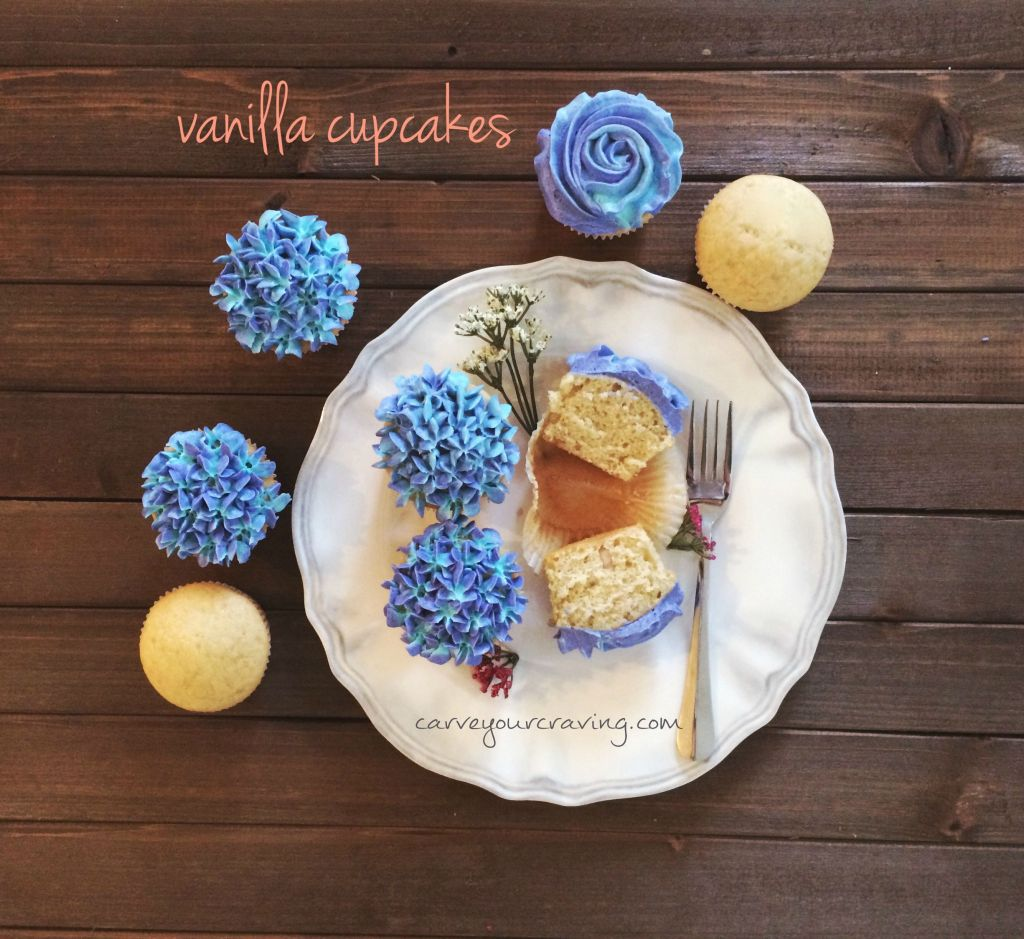 easy eggless vanilla cake cupcakes recipe no condensed milk no butter