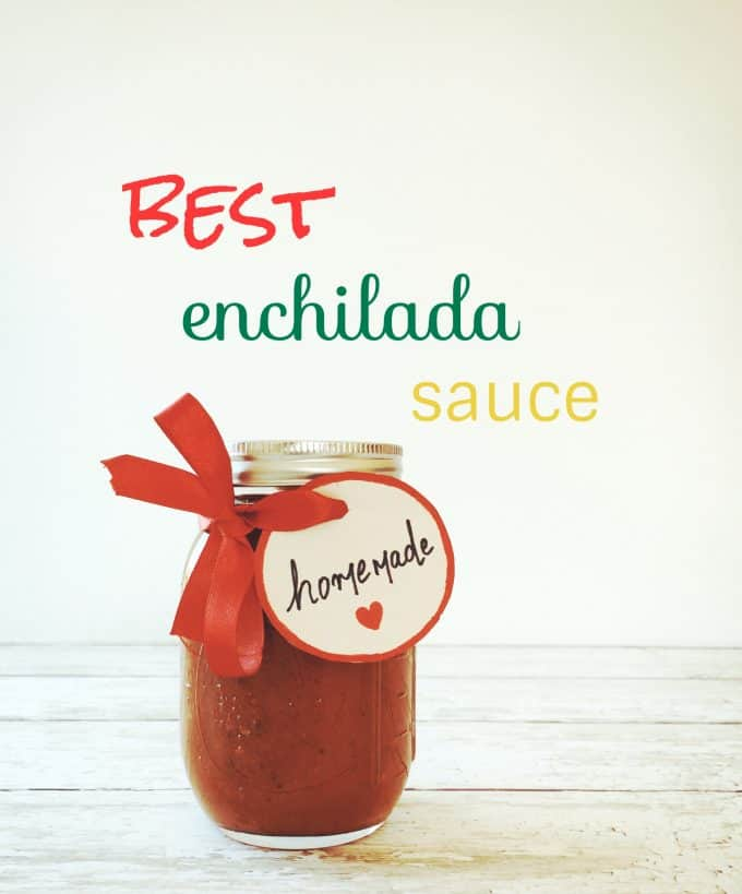 Vegan Red Enchilada Sauce