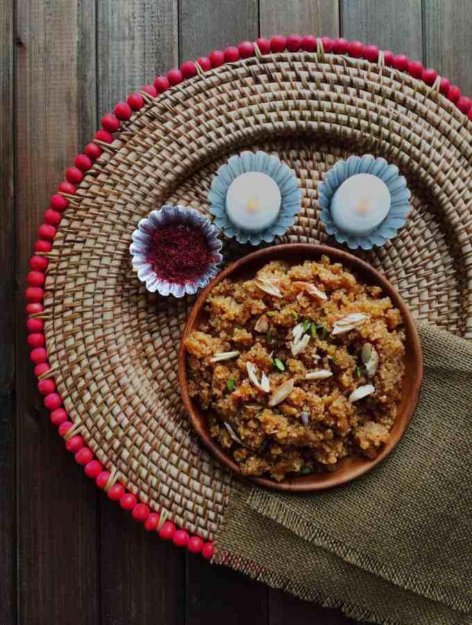 Lapsi – cracked wheat sweet