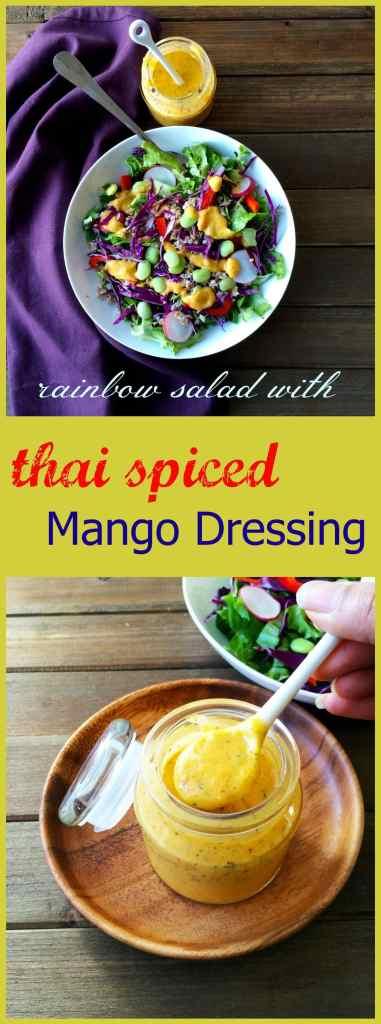 mango dressing - thai spiced