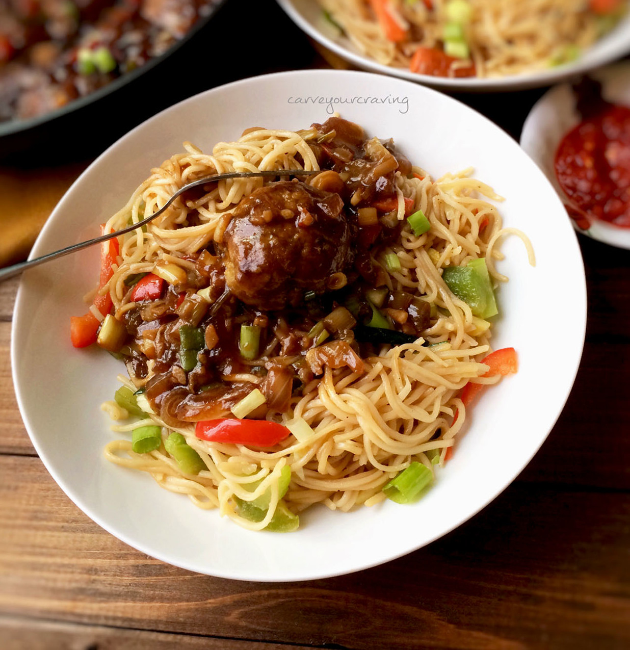 Perfect Veg Hakka Noodles Indo Chinese How To Make