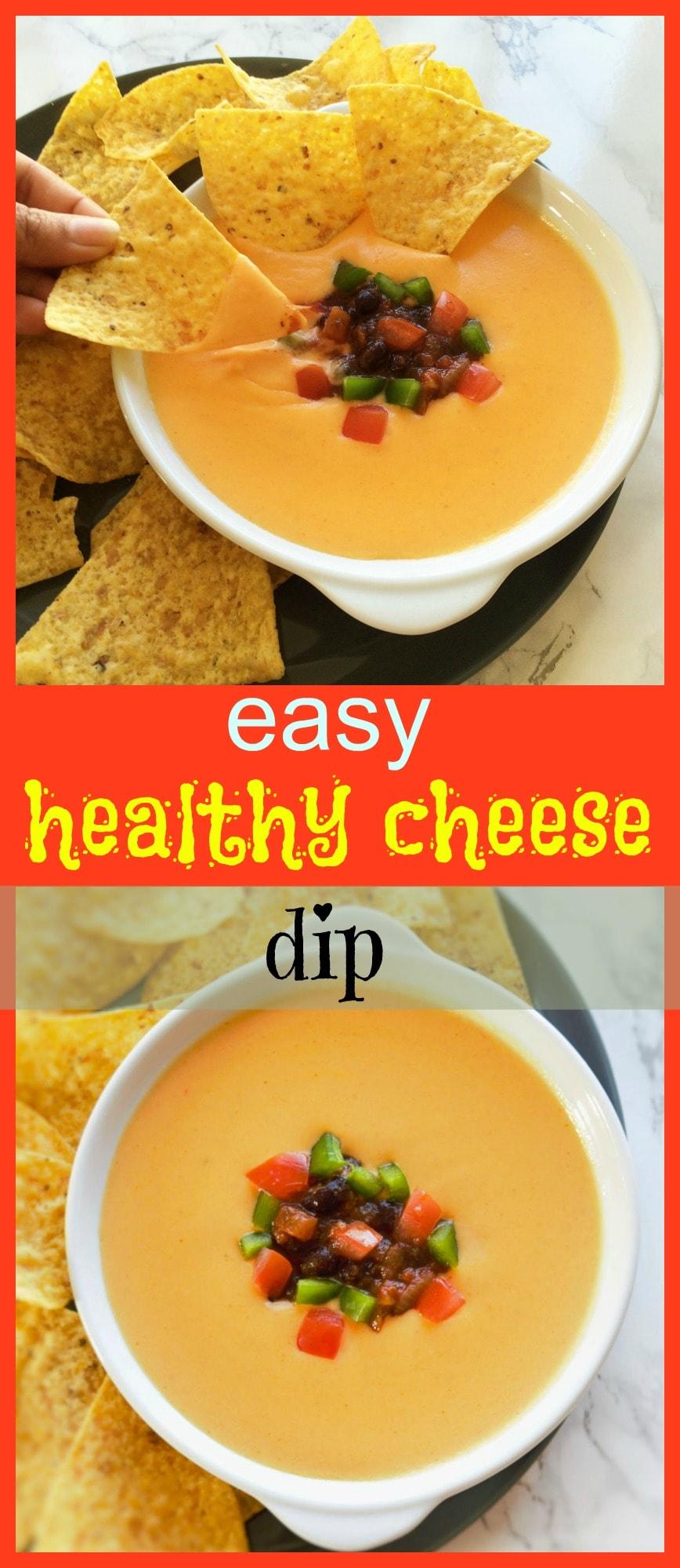 healthy nacho cheese dip