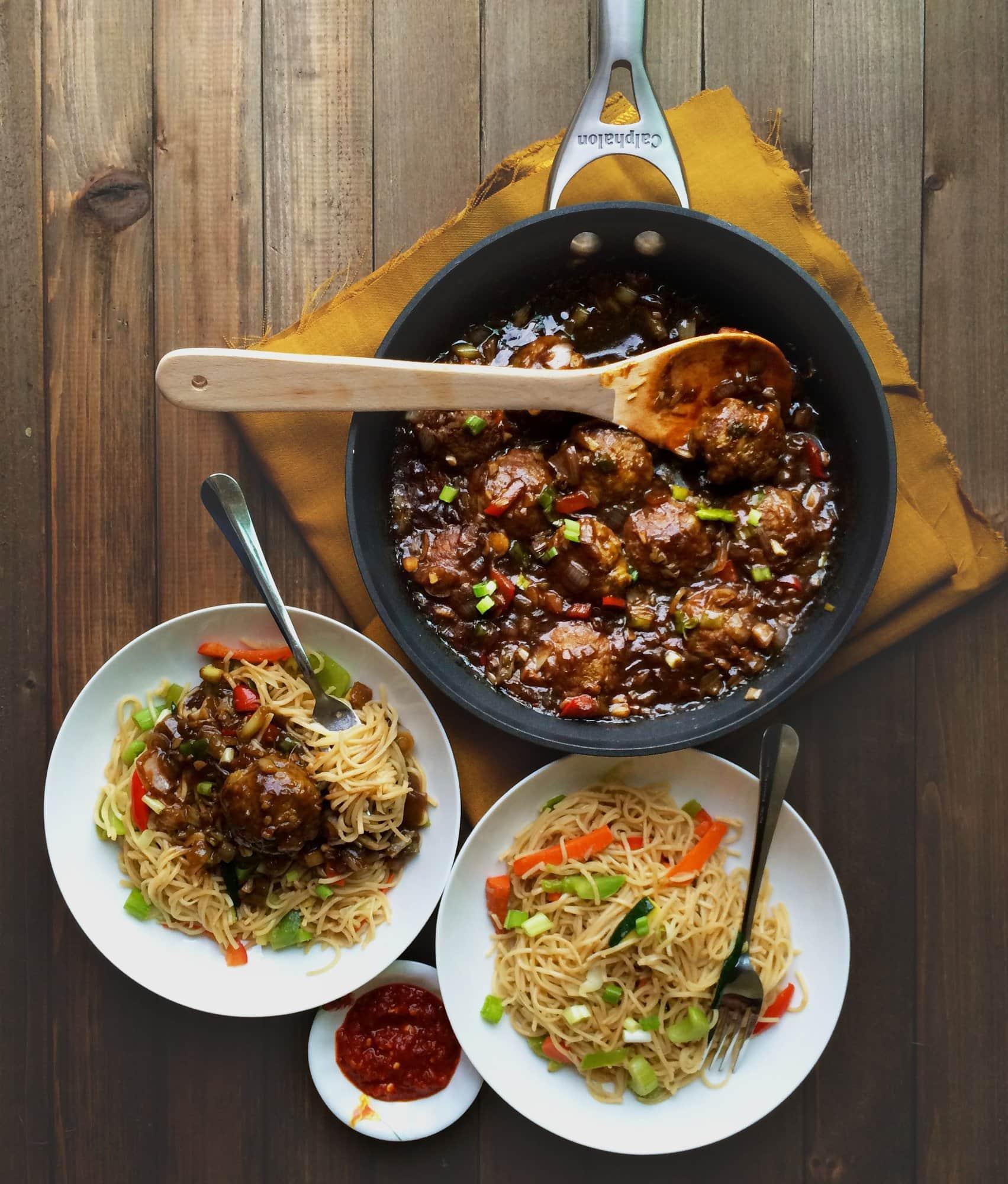 Easy no fry veg manchurian gravy indo chinesevegan gf easy no fry veg manchurian gravy indo chinese vegan forumfinder Gallery