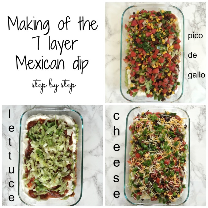 easy 7 layer mexican dip 5