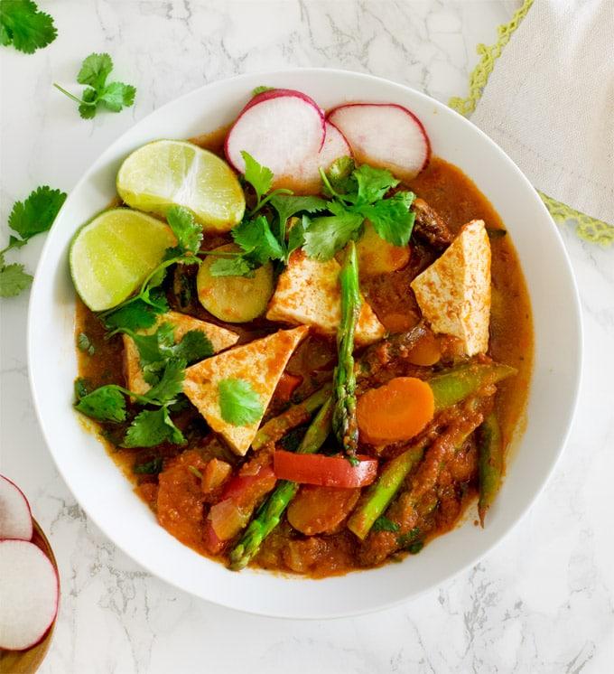 Chipotle-jungle-curry-under-30-minutes-vegan