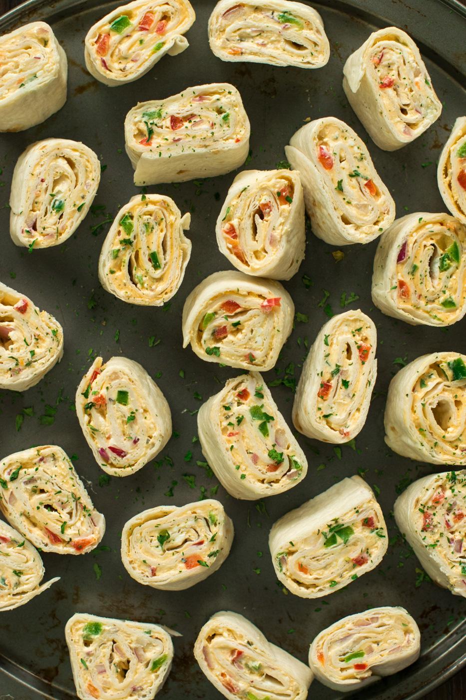 Vegan Tortilla Pinwheels Tortilla Roll Ups Recipe Vegan