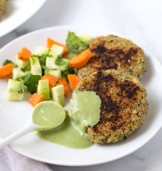 Quinoa Paneer Patties  (High Protein Healthy cutlets)