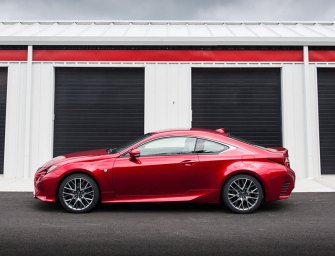 New Lexus RC Series Yearns To Earn Driving Passion