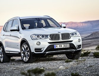 "BMW X3 Marks the Spot With Its ""Sports Activity"" SUV"