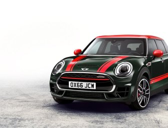 Latest MINI John Cooper Works Clubman Mixes Kitsch and Sporting Heritage