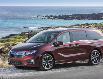Honda offers the comprehensively redesigned 2018 Honda Odyssey Minivan