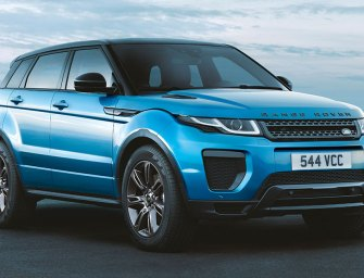 Range Rover Evoque SUV Drop Top Has A Sunny Disposition