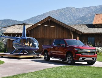 "Chevrolet Brings It's ""A"" Game Silverado Makeover to the 2019 Pick-Up Truck Showdown"