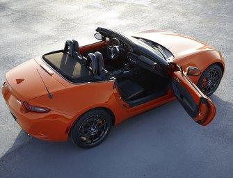 New Mazda MX-5 Miata RF… Less Cute… More Driving Excitement!