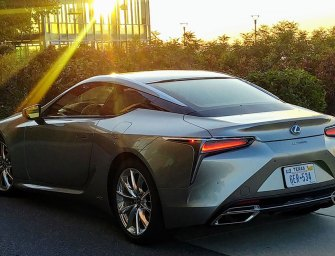 Lexus LC500 Hybrid Is A Stunning Intersection of Art and Engineering