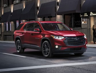 Chevy Traverse Has Outgrown Its Awkward Period