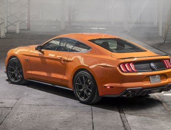 Mustang Keeps Two Wheels in Past and Two Wheels in Future