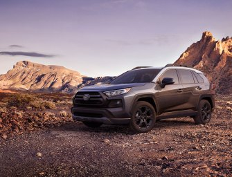 Toyota Rav4 Crossover SUV Wears The TRD Badge In Full Swagger
