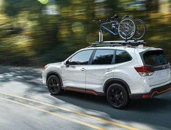 Subaru Forester Sport Mind Trick Adds To Appeal