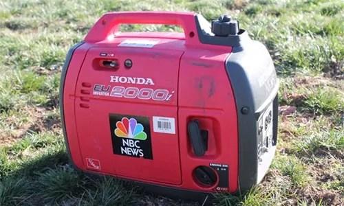 detailing interter generator - Honda