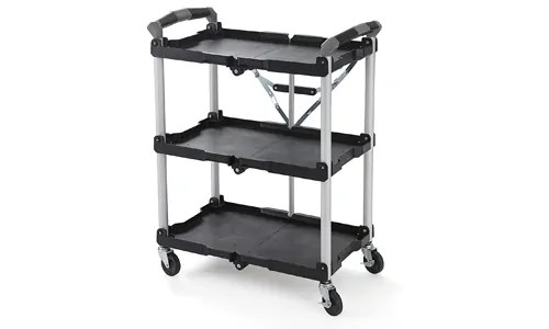 collapsible auto detailing cart
