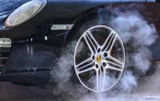 clean car exterior steam