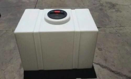 rectangle water tank detailing