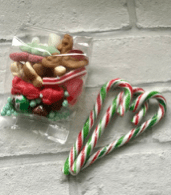 Xmas Themed Sweet Bags