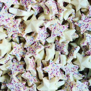 White Chocolate Snowie Stars