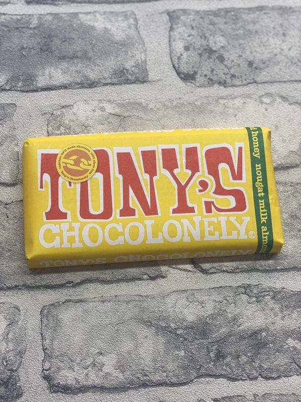 Tony's Chocolonely - Milk Almond Honey Nougat 32%