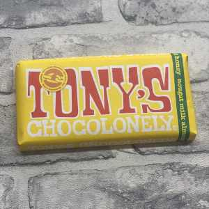 Tony's Chocolonely – Milk Almond Honey Nougat 32%