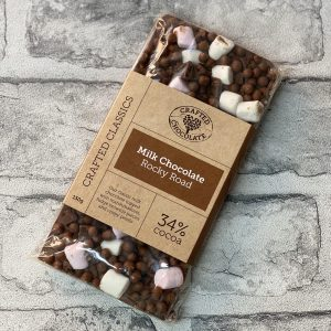 Crafted Chocolate – Milk Rocky Road