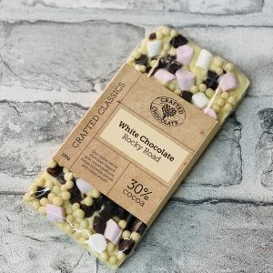 Crafted Chocolate – White Rocky Road
