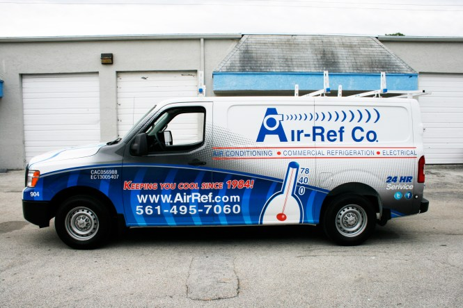 Vehicle Wrap Design For Bryant S Heating And Cooling An Hvac Company Located In Fort Payne