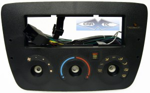 Ford Taurus (w Rotary Climate Controls) 2006 Single Din