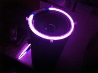 8 Inch PURPLE Neon Speaker Rings: Glow Subwoofer
