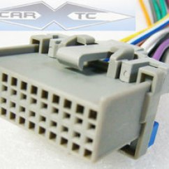 Wiring Diagram For Car Stereo Toyota Hunter Ceiling Fan Light Switch Matrix 04 2004 Factory Installation Harness Oem Radio Install Wire