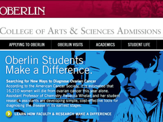 Oberlin College Admissions