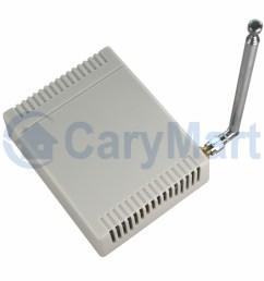 dc 6v 9v 12v 24v power 8 channel wireless universal remote control rf receiver circuit [ 1000 x 1000 Pixel ]