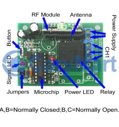 normally open normally closed relay wiring diagram [ 1000 x 1000 Pixel ]