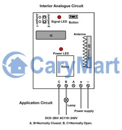 dc 6v 9v 12v 24v power output wireless remote control momentary switch 3 way toggle switch wiring remote control 12v dc switch wiring diagram [ 1000 x 1000 Pixel ]