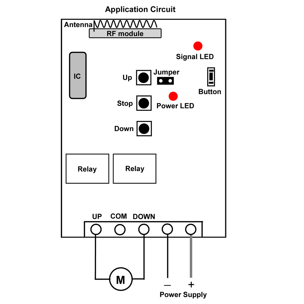 Dc 24v Rf Remote Control Solenoids And Linear Actuators Carymart