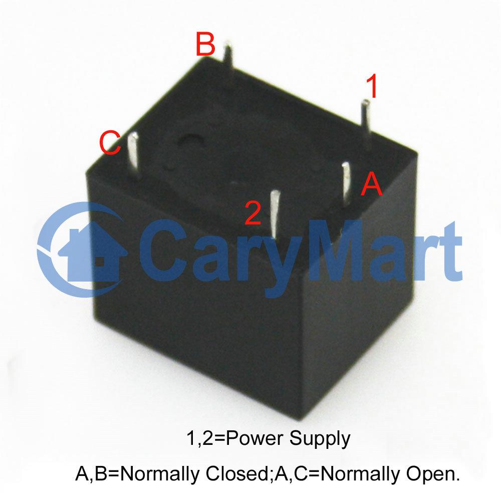 Relay Schematic Normally Open