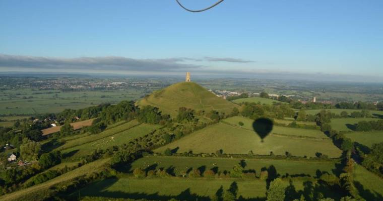 A head for heights: Hot air ballooning in Glastonbury, Somerset